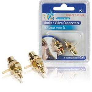 Connettori RCA (2x) da pannello-0