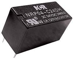 Relè ultraminiaturizzato NRP-04 5V, 3A, 2 contatti di scambio-0