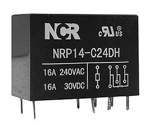 Relè di potenza NRP-14 12V - 16A - 1 scambio-0