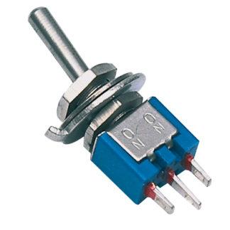 Toggle switch 6p 125 V 3 A INTERRUTTORE LEVA-0