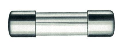 10 FUSIBILE RITARDATO VETRO Glass tube fuse 5x20 slow 1.6 A-0