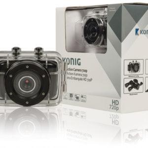 Action Camera HD da 720p con rivestimento impermeabile-0
