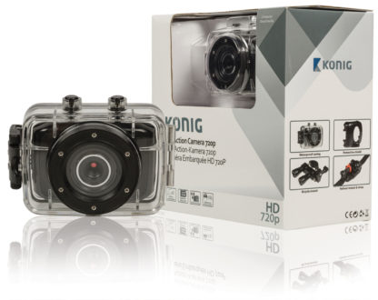 Action Camera HD da 720p con rivestimento impermeabile-0