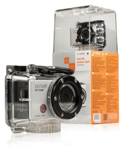 Action Camera Full HD da 1080p con rivestimento impermeabile e Wi-Fi-2047