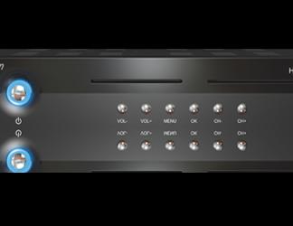 Ricevitore Satellitare in Alta Definizione MVision HD400S ricondizionato-0