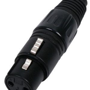 HQM-1302BB CONNETTORE (F) XLR 3P-0