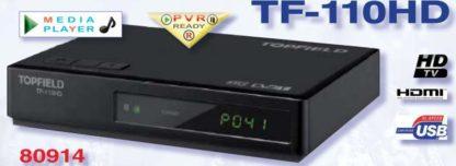 DECODER DVB-T2 HD TOPFIELD TF-110HD ZAPPER-0
