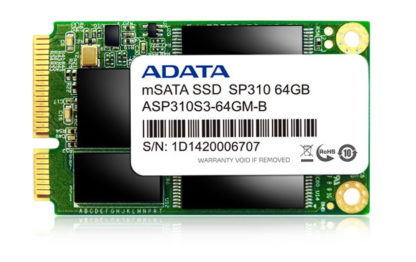 HARD DISK ADATA SSD SP310S3 128GB mSATA -0