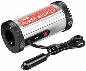 Inverter convertitore 12 volt DC -> 220 volt AC 150 watt adatto a caper roulotte barche camion auto-0
