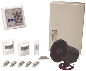 sistema di allarme 8 zone filare completo di sensori-0