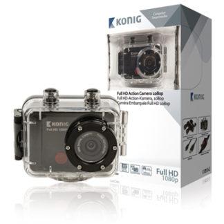 Action Camera Full HD da 1080p con rivestimento impermeabile-0