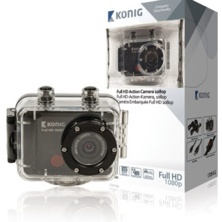 Action Camera Full HD da 1080p con rivestimento impermeabile-0