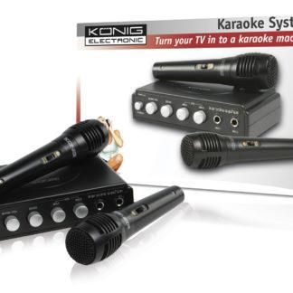 Mixer Karaoke nero-0
