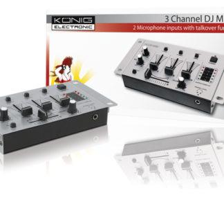 Mixer per DJ a 3 canali-0