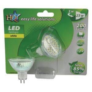 Lampada a LED MR16 GU5.3 5.5W (23W)-0