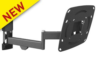 "SUPPORTO TV ROTATE, FOLD, SWIVEL & TILT FINO A 37"" VESA 20X20-0"