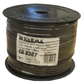 cavo microfonico bilanciato karma Ca 8287 2 x 0,23 mm 100 mt-0