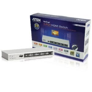 SWITCH HDMI A 4 PORTE CON TELECOMANDO -0