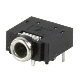 Presa stereo da 3,5 mm jack telaio ( PCB) , con interruttore-0