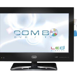 """TV 16"""" Led HD Ready con DVD Trevi LTV 2116 CDVD 12 volt x camper, barche, baite-0"""