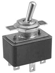 Deviatore unipolare ON-OFF con targhetta a scatto rapido, 3A - 125V-0