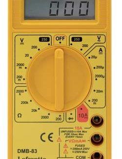 Lafayette DMB-83 Multimetro digitale-0