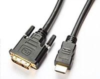 CAVO HDMI Cavo HDMI/DVI 1m colore nero-0