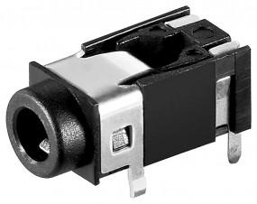 Presa Jack stereo - 3.5 mm da circuito stampato -0