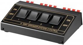 SELETTORE AUDIO 4 CASSE Goobay Switch box per altoparlanti-0