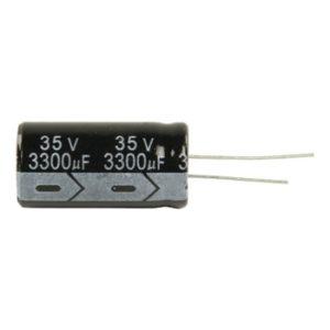 Condensatore elettronitico radiale 3300 mf 35 v 105°-0