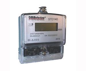 DMMetering STD-140 MISURATORE DI ENERGIA DA PANNELLO A SINGOLA FASE-0