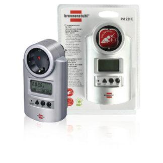 Misuratore del consumo di energia con orologio-0