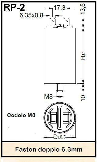 CONDEN. INDUS. DI SPUNTO 400/450V 12UF-0