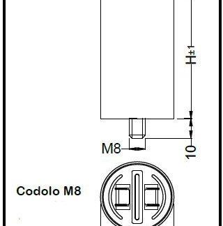 CONDEN. INDUS. DI SPUNTO 400/450V 15UF-0