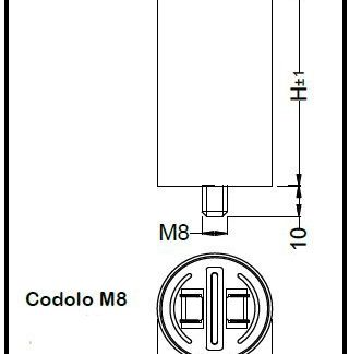 CONDEN. INDUS. DI SPUNTO 400/450V 40UF-0