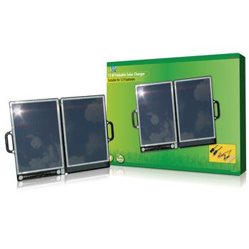 Caricabatterie solare richiudibile da 13 W-0