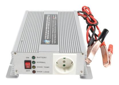 Inverter 12 - 230 V 600 W con caricabatterie incorporato-0