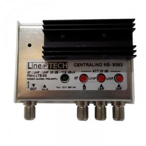 Centralino da Interno LTE 3 IN 30 db BIII / UHF / UHF-0