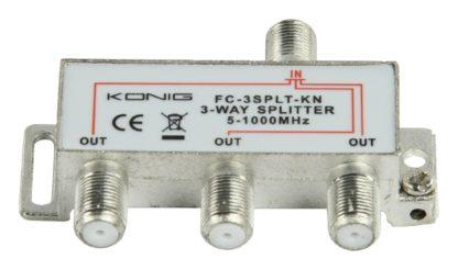 KÖNIG Splitter F König CATV 3 OUT DC PASS DVB-T NO SAT-0