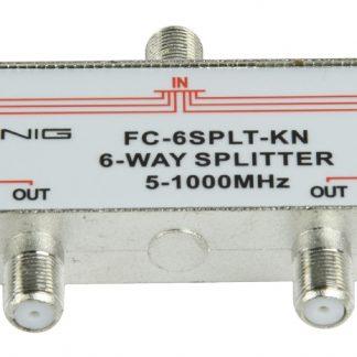 KÖNIG Splitter F König CATV 6 OUT DC PASS DVB-T NO SAT-0