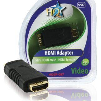 ADATTATORE MINI HDMI MASCHIO - HDMI FEMMINA-0