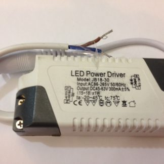 LED POWER DRIVER JB18-30 45-63V 300MA-0