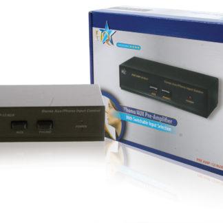 Preamplificatore stereo con ingresso aux commutabile-0