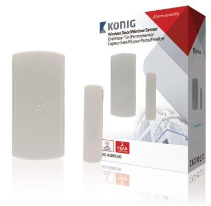 Sensore per porte/finestre wireless per sistemi serie SAS-ALARM-300-0