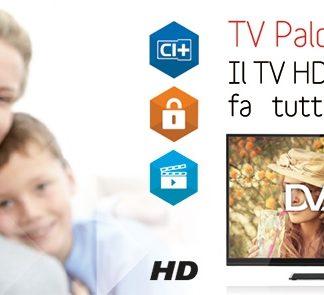 TV LED DVB-T2 TELESYSTEM Palco19 LED06 -0