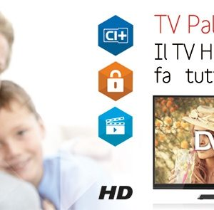 TV LED DVB-T2 TELESYSTEM Palco32 LED06 -0