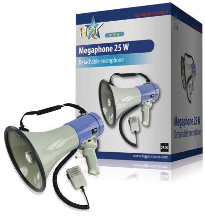 Megafono HQ 25 W con microfoni staccabili-0