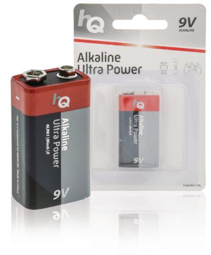 HQ Batteria alcalina da 9 V - Blister da 1-0