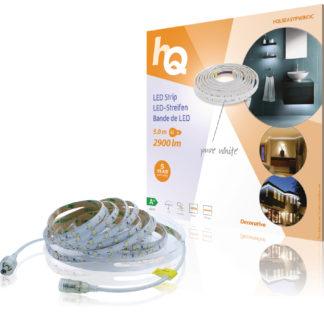 Striscia LED di facile installazione, bianco puro, esterni/interni, 2900 lm, 5 m-0
