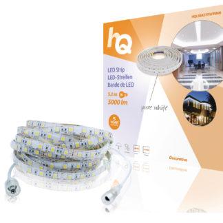 Striscia LED di facile installazione, bianco puro, esterni/interni, 5000 lm, 5 m-0